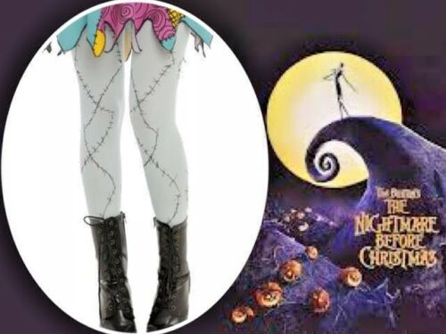 New Disney The Nightmare Before Christmas Sally One Size Fits Cosplay Tights
