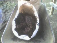 Spring has Sprung. Ready now well rotted horse manure/compost natural product no chemicals Free del