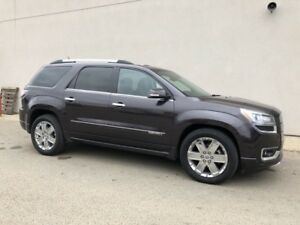 2015 GMC Acadia Denali-DVD, SUNROOF, 7 PASSENGER, AWD, ROOF RAIL