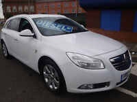 13 VAUXHALL INSIGNIA CDTI SE ESTATE DIESEL LEATHER £30 A YEAR TAX
