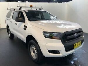 2018 Ford Ranger PX MKII 2018.00MY XL DOUBLE CAB PLUS White Sports Automatic Dual Cab Utility Belmore Canterbury Area Preview