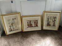 Egyptian pictures x three