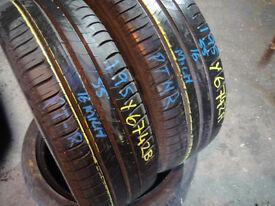 255 40 18 Bridgestone, Runflat x2 A Pair, 4.2mm (Part Worn Tyres Braintree)