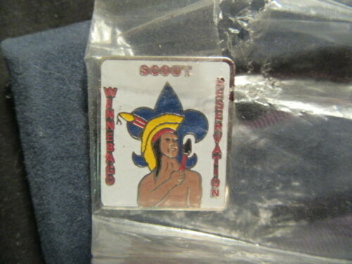 Winnebago Scout Reservation Hat Pin      RR