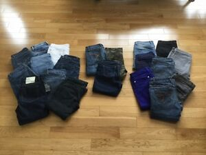 Many Pairs Of Jeans