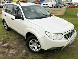 2009 Subaru Forester S3 MY09 X AWD White 4 Speed Sports Automatic Wagon Wangara Wanneroo Area Preview
