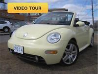 **VIDEO TOUR** 2004 Volkswagen Beetle Convertible GLS•136,000KM•