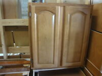 NEW OAK DOOR KITCHEN CABINETS