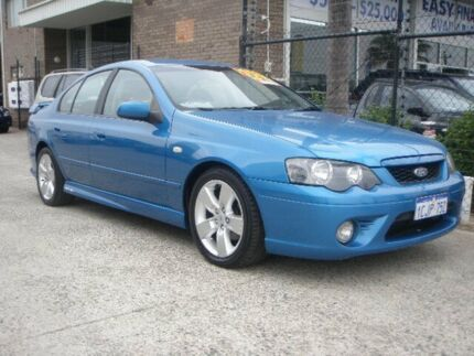 2006 Ford Falcon BF MkII XR6 Blue 6 Speed Auto Seq Sportshift Sedan Wangara Wanneroo Area Preview