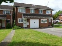 2 bed house in Calcot to rent, unfurnished, GCH, Double glazing & parking