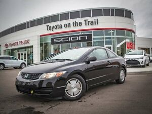 2010 Honda Civic DX-G, Remote Starter, AUX, Coupe, Power Windows