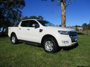 2016 Ford Ranger PX MkII XLT Double Cab White 6 Speed Sports Automatic Utility Lucknow East Gippsland Preview