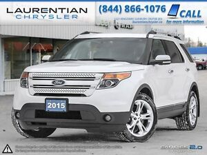2015 Ford Explorer LIMITED-ONE OWNER+ACCIDENT FREE