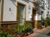 Two properties for sale in white village 20 minutes inland from Marbella, Spain