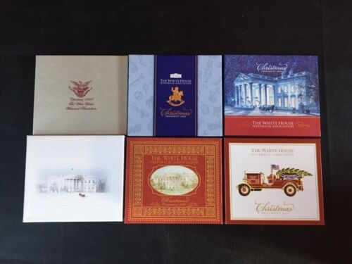 White House Historical Association Christmas Ornaments (6 different years)  -023