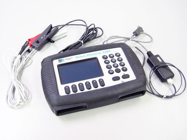 DRANETZ PP-4300 BMI POWER PLATFORM ANALYSER PP4300 TR2510 4300RS232