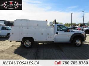 2012 Ford F-550 DRW XLT Service Truck+VMAC+Crane Diesel