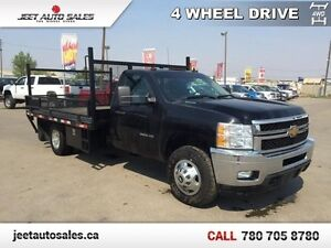 2013 Chevrolet Silverado 3500HD 12 Ft Deck! Tow Package!