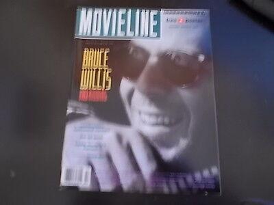 Bruce Willis  Ally Sheedy  Laura Dern   Movieline Magazine 1989