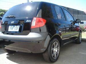 2009 Hyundai Getz TB MY09 S Black 4 Speed Automatic Hatchback