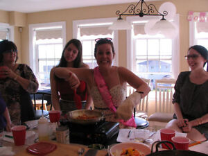 Wedding Bride Shower, Bachelorette COOKING CLASS PARTY