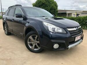 2013 Subaru Outback B5A MY13 2.0D Lineartronic AWD Blue 7 Speed Constant Variable Wagon