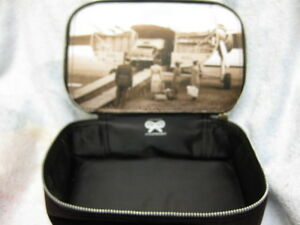 GENUINE ANYA HINDMARCH BA FIRST CLASS COSMETIC BAG NEW GIFT PERFUME PARTY