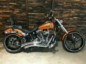 2014 Harley-Davidson FXSB Softail Breakout 1700CC Cruiser 1690cc Newstead Brisbane North East Preview