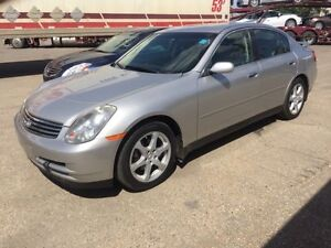 2004 Infinity G35x AWD LEATHER (INSPECTED)(CARPROOF HISTORY)
