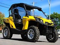 2012 CAN AM COMMANDER 800 XT EPS *TRÈS BAS MILLAGE!