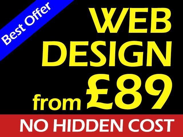 Professional Website Design from 89 | Cheap Web Design | Affordable | SEO | Logo | Hounslow London