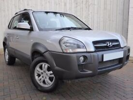 Hyundai Tucson 2.0 CRTD CDX ....Fabulous Value Diesel Four By Four, With Superb Service History