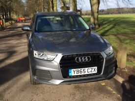 2016 Audi Q3 2.0Tdi SE. Very Low Mileage, Full Audi service history, FREE Service plan included!