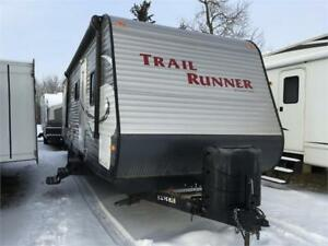 2014   TRAIL RUNNER 29SLE BUNK HOUSE TRAILER
