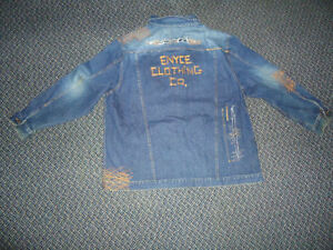 **ENYCE****BLUE JEAN DENIM JACKET MENS XXXL 3X 3XL Kingston Kingston Area image 5