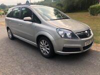 Vauxhall Zafira Cdti Turbo diesel 7 seater 6 speed mpv