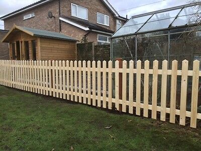 Planed Smooth Picket Fence Panels *PROJECT DEAL* 6ft x 2ft 6