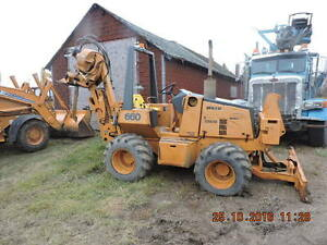 CASE MODEL 660 4X4X4 CABLE PLOW TRENCHER