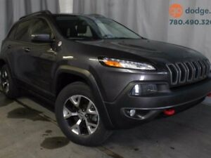 2014 Jeep Cherokee Trailhawk 4x4 / GPS NAVIGATION / HEATED STEER