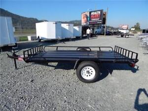 NEW 5x10 ATV QUAD 2 PLACE SIDE LOAD TRAILER