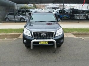2009 Toyota Landcruiser Prado KDJ150R GXL Metal Storm 5 Speed Sports Automatic Wagon Young Young Area Preview