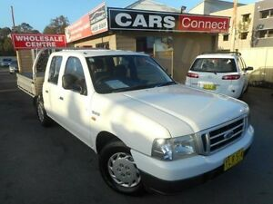 2002 Ford Courier PE GL White 5 Speed Manual Crewcab Edgeworth Lake Macquarie Area Preview