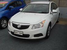 2011 Holden Cruze JG CD White 6 Speed Automatic Sedan Holroyd Parramatta Area Preview