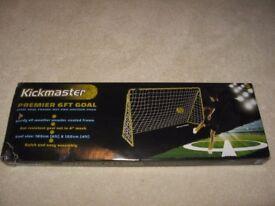 Kickmaster 6 foot Premier Goal Unopened £15.00