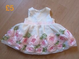 Gorgeous floral girl baby princess dresses clothes New/NearlyNew/VeryGoodCondition