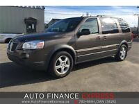 2009 Pontiac Montana LOW KM!! GET APPROVED AND DRIVE TODAY!!
