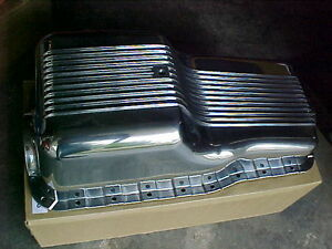 SMALL BLOCK FORD 289 302 Polished Aluminum Oil Pan London Ontario image 1