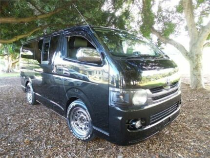 2008 Toyota Hiace Black Automatic Van Burwood Burwood Area Preview