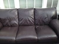 FREE 3 Seater Faux Leather Sofa - Pick Up Dalston N1