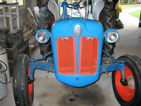 Fordson Dexta (1959) tractor. Used but in good working order.